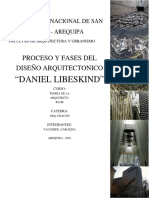 procesos del diseño arquitectónico daniel libeskind