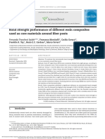 3d. Bond Strength Performance of Different Resin Composites