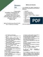 40 Dìas de Ayuno. folleto.pdf