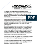 REPAIR Act Summary