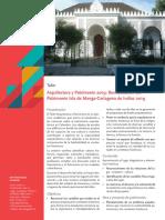 Arquitectura y Patrimonio 2019