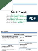 Plantilla de Acta de Proyecto