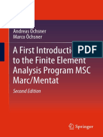 Andreas Öchsner,Marco Öchsner (auth.) -  A First Introduction to the Finite Element Analysis Program MSC Marc_Mentat-Springer International Publishing (2018).pdf