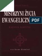 Edward Staniek, Mistrzyni Życia Ewagelicznego. Kazania Maryjne