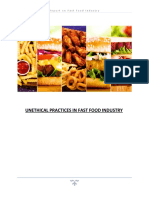 Unethical issues in fast food industry.docx