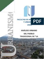 Análisis Urbano La Tomilla
