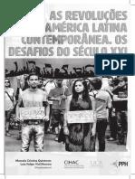 As Revoluções na América Latina Contemporânea. Os Desfios do Século XXI - 10-2018 - Gráfica.pdf