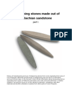 Valassky Piskovec Sharpening Stone