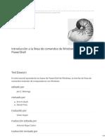 Introduccion a PowerShell de Windows