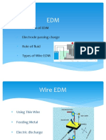 Application of Wire EDM