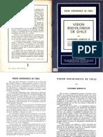 Clodomiro almeyda Vision Sociologica de Chile
