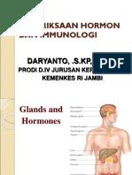 Konsep Pemeriksaan Hormon Dan Immunologi