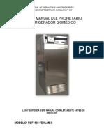 Refrigerador Vacunas Rlf 420 Fehlmex