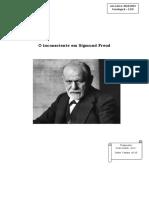 O Inconsciente em Sigmund Freud