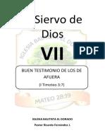 Elsiervodediosibed Leccionxvi Buentestimoniodelosdeafuera 170319134922