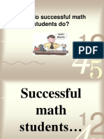 What Do Successful Math Students Do3