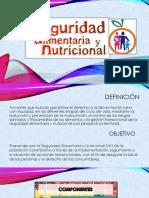 Seguridad Alimentaria y Nutricional