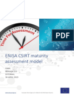 Study on CSIRT Maturity 29042019