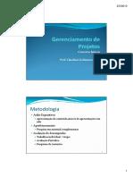 Gerenciamento de Projetos - Conceitos Basicos