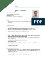 CV Ruben Moscoso 2019