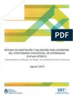 Cuestionario Psicosocial Argentina