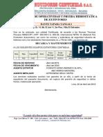 Protocolo de Operatividad de pozo a tierra
