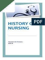 History of Nursing.docx