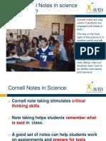 Avid Cornell Notes1