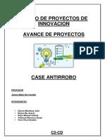 Proyecto de Innovacion - Avance