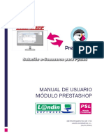 Manual Modulo Prestashop