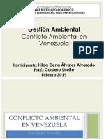 Conflicto Ambiental en Venezuela