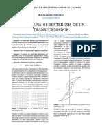 Informe Maquinas Electricas 1