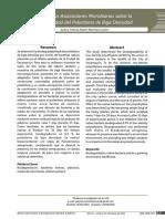degradación de polietileno de baja densidad por asociaciones microbianas  Autora