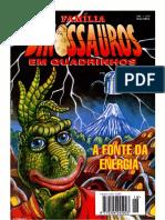 Família Dinossauros Em Quadrinhos