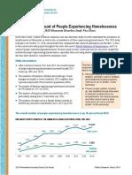 Wilder Foundation Research - Homelessness Factsheet 2018