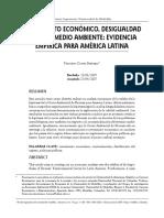 Crecimiento económico, desigualdad social y medio ambiente America Latina.pdf