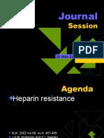 Heparin Resistance