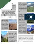 Guía Las Regiones Naturales de Nuestro Pais