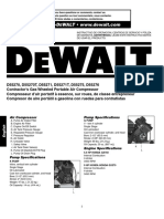 DEWALT D55270 TYPE 2 Owners Manual