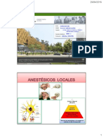 Anestesicos Locales - 2019-I - HJCH