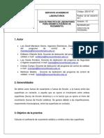 Guia de Practica en Laboratorio Para Dinámica (Fuerzas de Rozamiento)