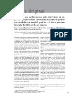 Resistência aos medicamentos anti-tuberculose