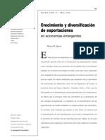 Agosin09 - Crecimiento y diversificación de exportaciones en economías emergentes