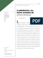 Rosales09 - La globalizaciòn y los nuevos ecenarios del comercio internacional