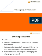 Chapter 6-Managing Our Changing Environment (1)