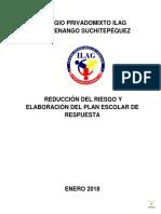 Plan de Respuesta ILAG 2018
