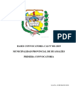 Bases Convocatoria- 2019
