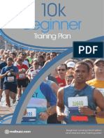 10k Beginner Training Plan