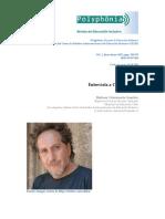 Entrevista Carlos Skliar_ Polyphonia. Revista de Educación Inclusiva