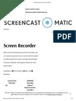 Screen Recorder _ Screencast-O-Matic